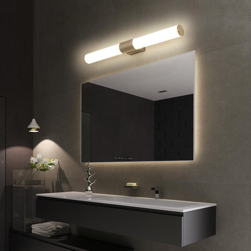 Mirror Light Cabinet Wall Lamp Led Bathroom Dresser Personality Nordic Wash Table Dres Bathroom Light Fixtures Contemporary Bathroom Lighting Bathroom Lighting