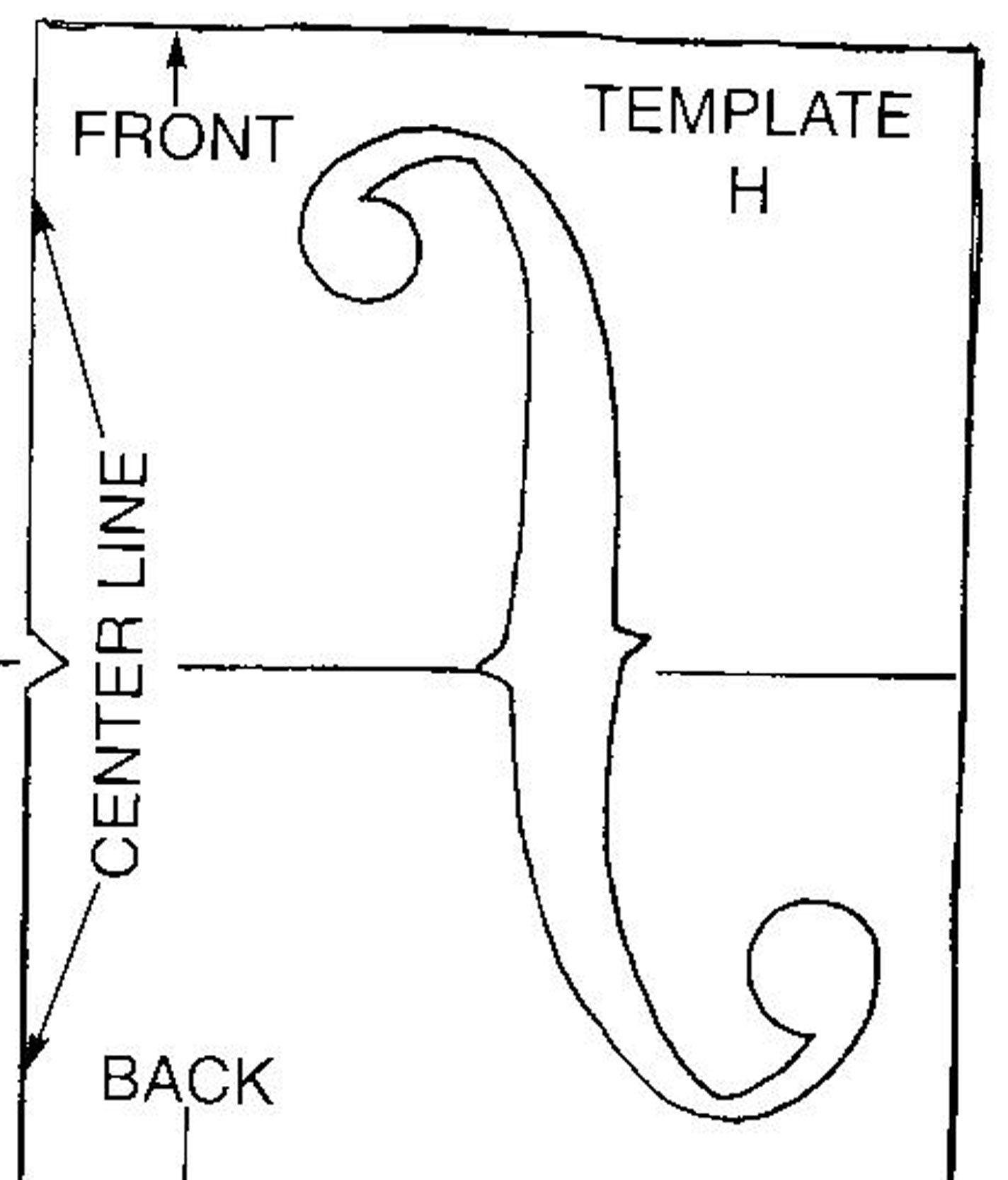 F Hole Design