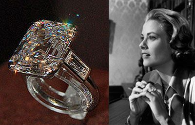 High Quality Grace Kellyu0027s Ring From Prince Rainier. She Used It As Her Engagement Ring  In High Society Instead Of The One Provided By Props.