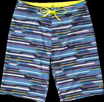 2bf777def5 prAna Men's Sediment Board Shorts Vortex Blue Indian Summer 40 In ...