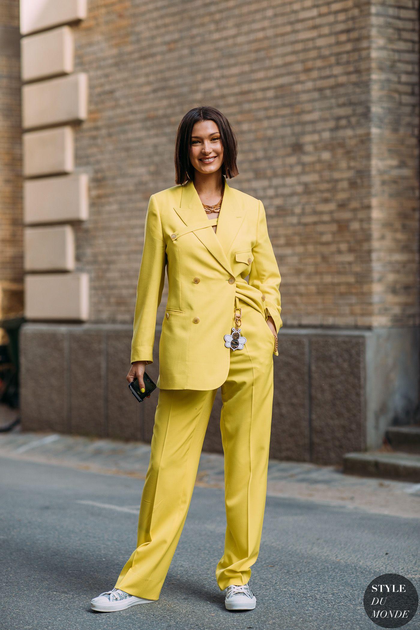 2e37bbe1927 Paris Men s Fashion Week SS 2019 Street Style  Bella Hadid