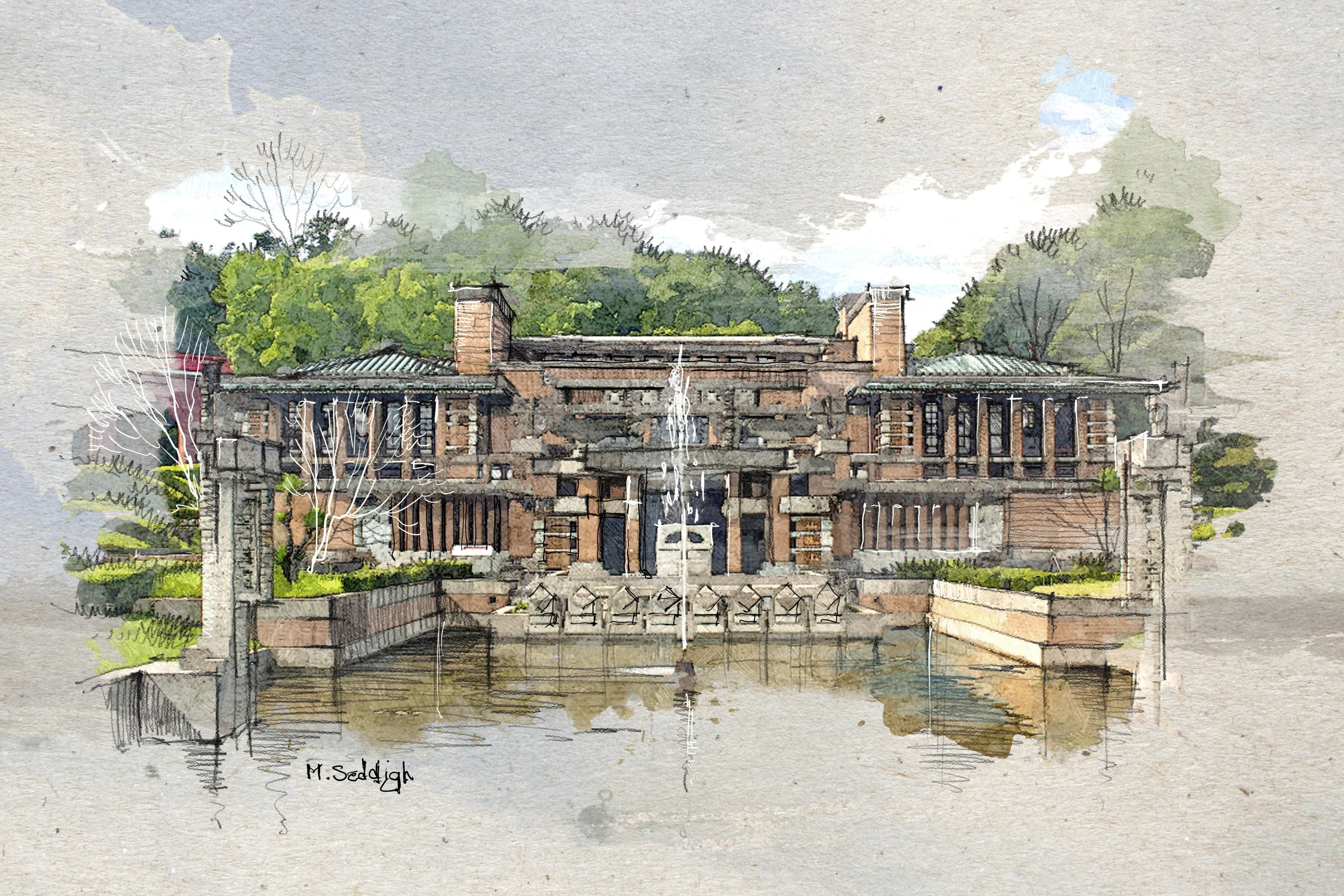 Awesome Architecture Watercolor Effects Art Education Resources
