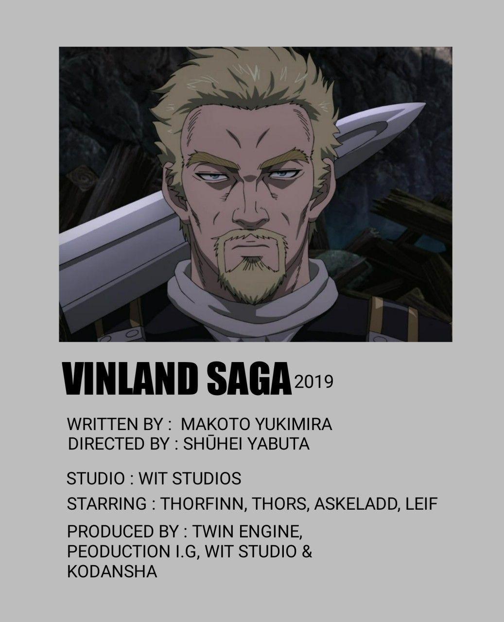 vinland saga minimal poster vinland