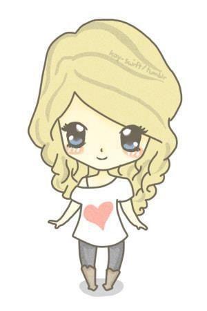 Cute Taylor Swift anime!!! <3   Dibujos   Pinterest   Dibujos