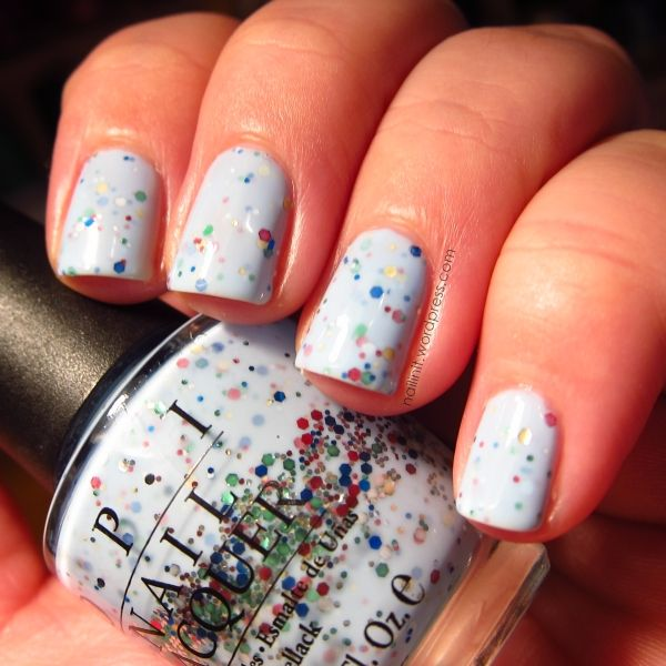 DIY Nail Polish - Nailin It\'s FRANKEN Quelle Suprise = HNM Confetti ...