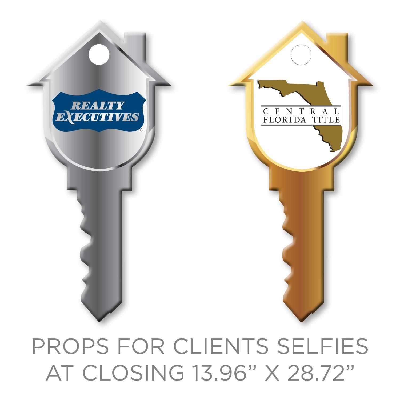 Key Cuts for Realtors at Home Closing Props for Realtors at