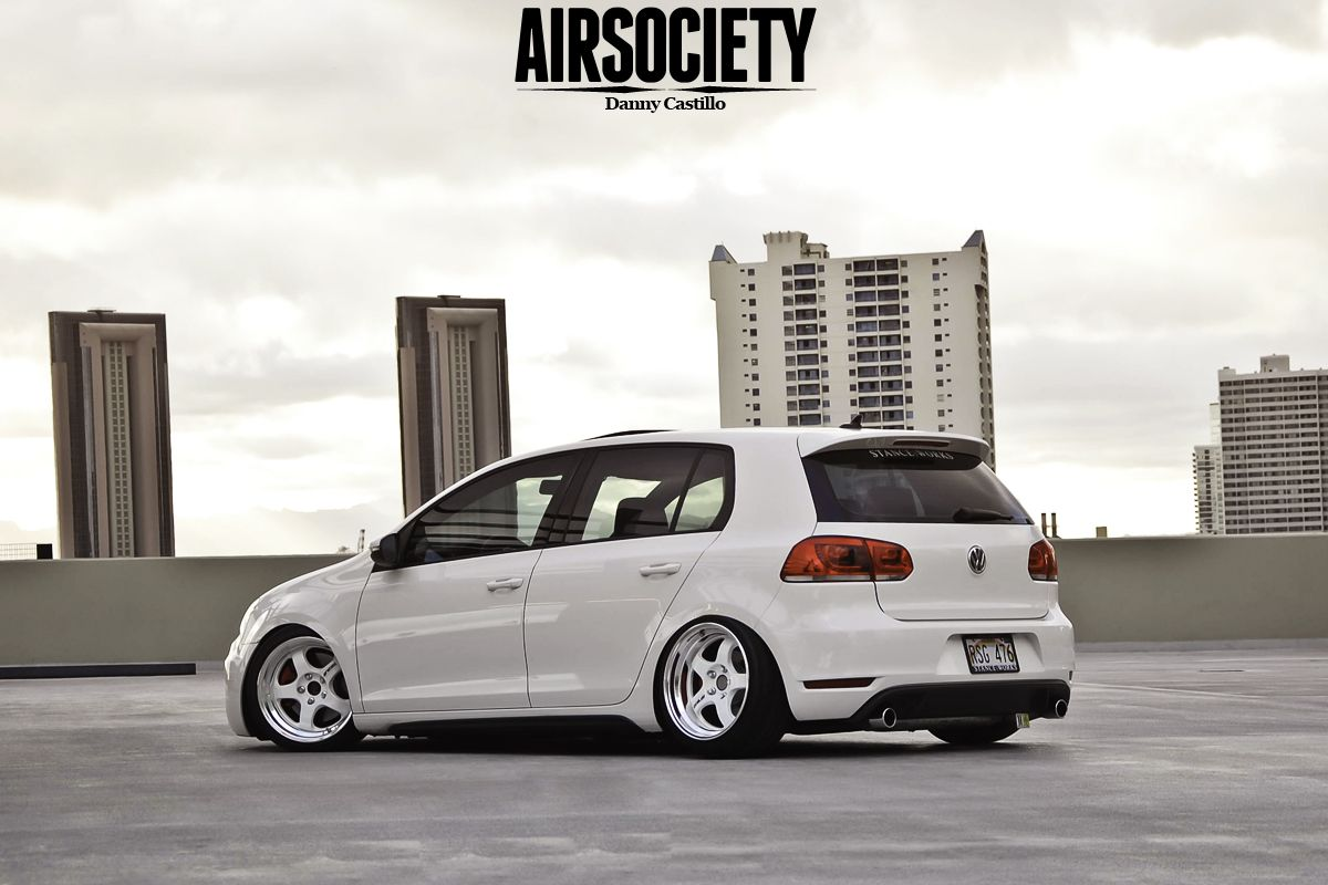Mk6 Vw Gti Bagged Air Suspension Ride Airrex