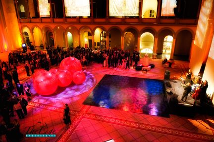 Birthday Party at National Building Museum in Washington DC