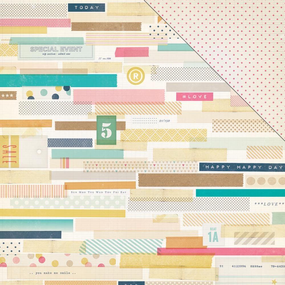 Craft Market Thrifty Paper 12x12