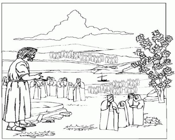 coloring pages childrens sermon - photo#31