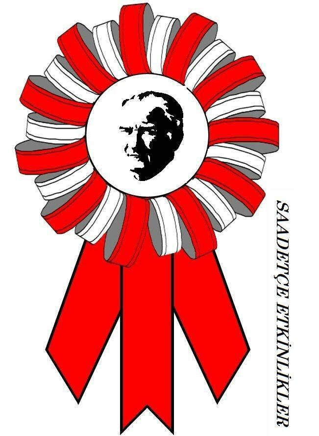 Atatürk Rozeti Belirli Gün Ve Haftalar Education