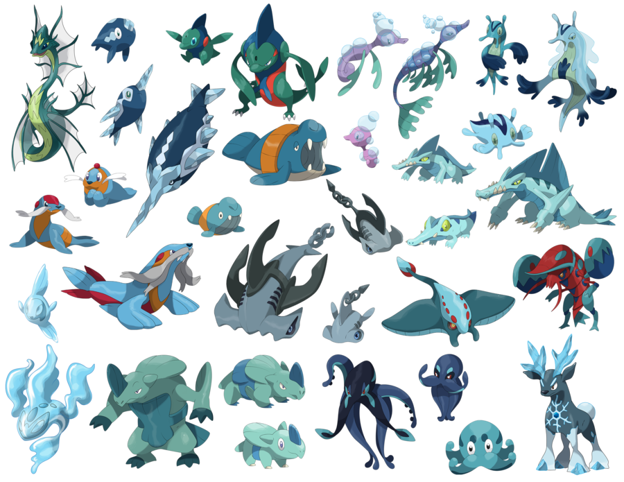 all water by daniel dna deviantart com on deviantart pokemon