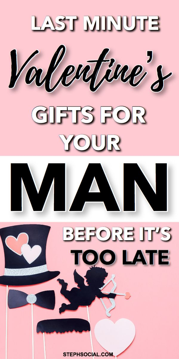 Last Minute Valentine's Gift Ideas For Your Man | Gift Ideas For Boyfriend