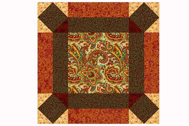 An Easy Quilt Block Pattern in Your Choice of Two Sizes: How to Make Johnny Round the Corner Quilt Blocks