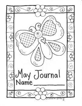 A cute way to dress up your classroom writing journals