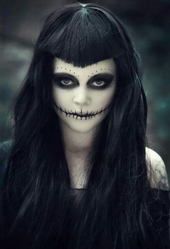 20 Halloween Creepy Cosplay Ideas Maquiagem Assustadora