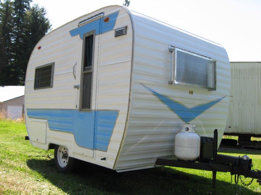 restored 64 cardinal vintage camper vintage trailer campers pinterest vintage trailers. Black Bedroom Furniture Sets. Home Design Ideas