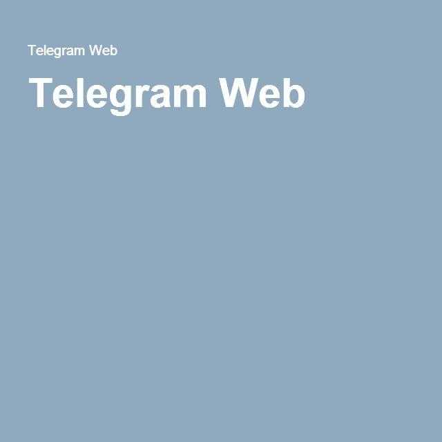Telegram Web   +998945731600   Web application
