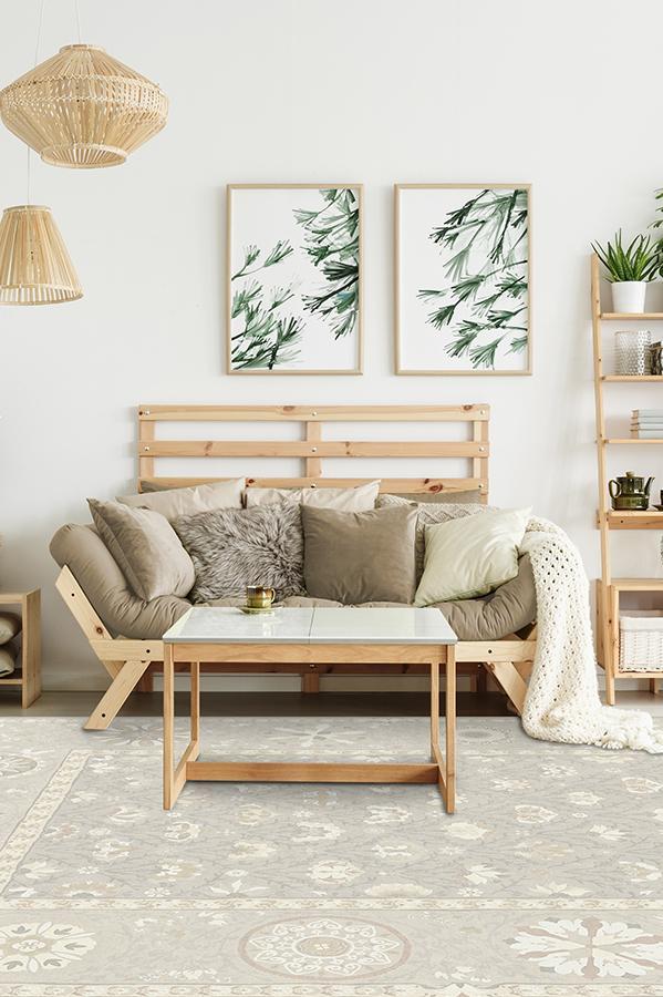 Latiff Creme Rug Interior Design Amp Decor Washable