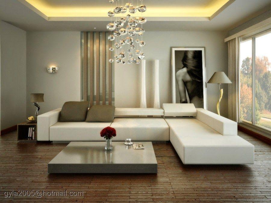 Diseño de Interiores \ Arquitectura Tendencias para Salas Modernas - decoracion de interiores salas