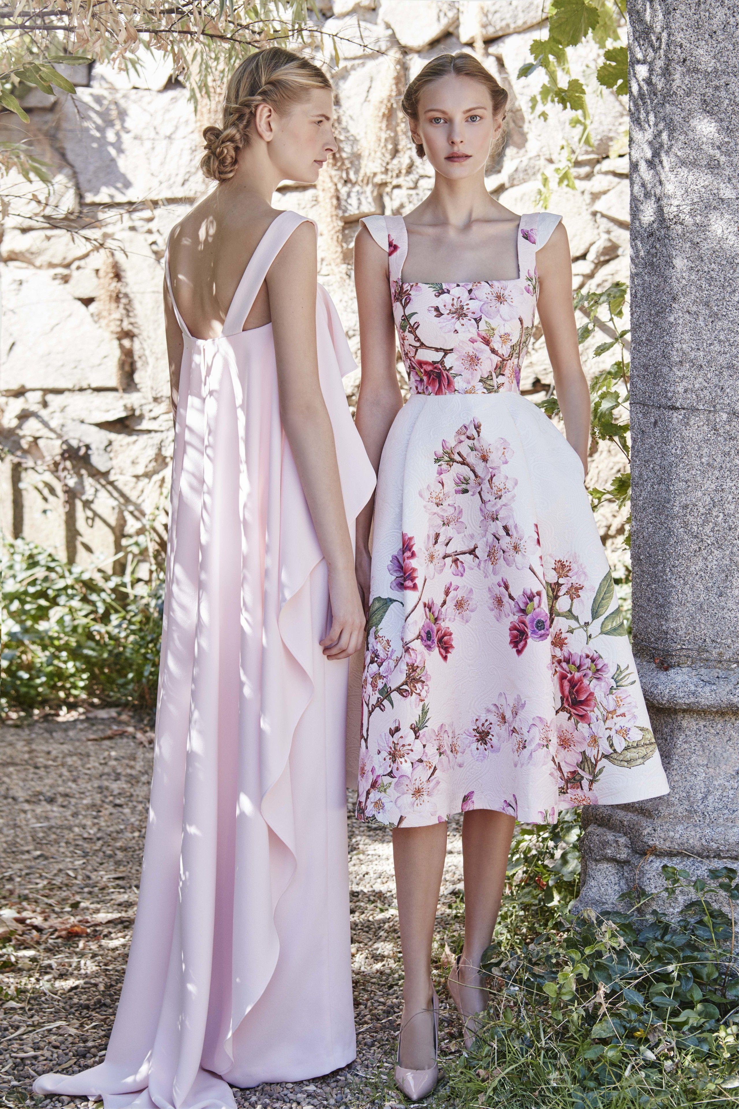 500490f901 Dress. Pink. Flower print. Dolores Promesas Heaven Primavera-Verano ...