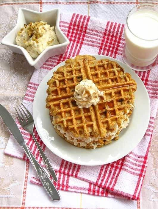 Kue Waffle Img Pixelatedcrumb Com Resep Kue Waffle Hidangan Penutup