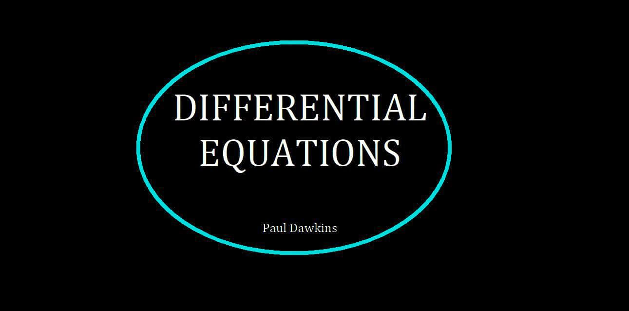 Download differential equations paul dawkins with manual download differential equations paul dawkins with manual solutions pdf fandeluxe Gallery