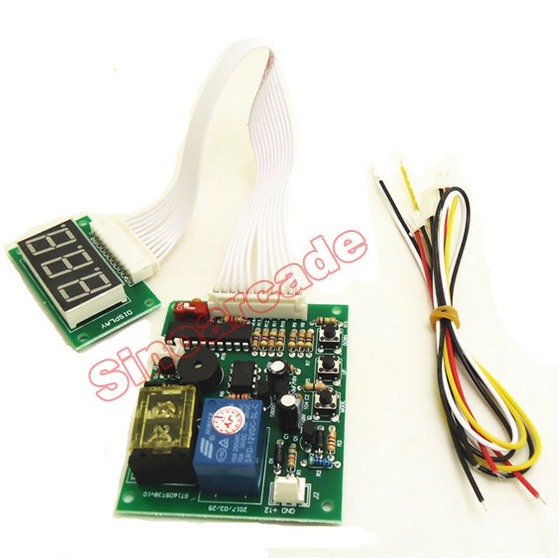 JY-15A Coin Operated Timer Control Board Power Supply For Vending Machine
