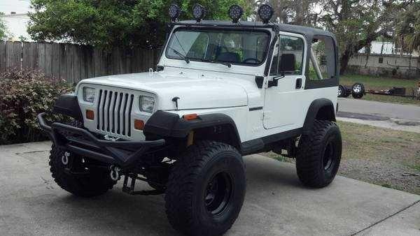 1990 Lifted Jeep Wrangler Yj 600x338 Jeep Wrangler Yj Jeep Wrangler Jeep Yj