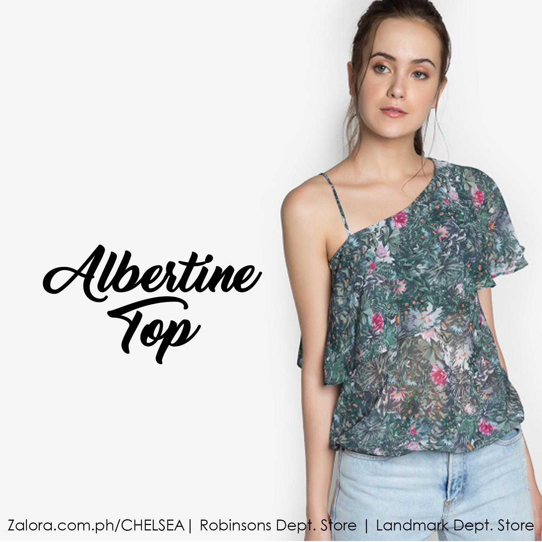 Albertine Top = simply fabulous.    #zaloraph #robinsonsdeptstore #landmarkphil #shopping #philippines #fbloggersuk #fbloggers #shopatchelsea