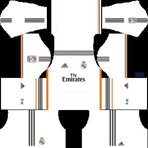 Dls Kit Real Madrid 2013 2014 Dream League Soccer Kits Uniformes Futebol Futebol Uniforme