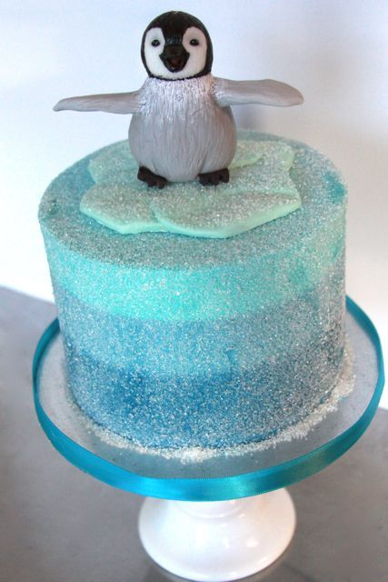 Admirable 21110 427640 Pixels Penguin Cakes Birthday Cake Kids Cake Funny Birthday Cards Online Alyptdamsfinfo