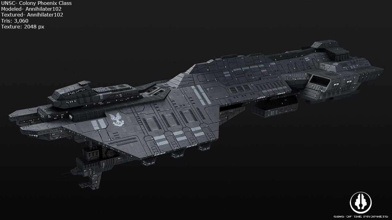 UNSC Colony Phoenix Class by ~Annihilater102 on deviantART ...