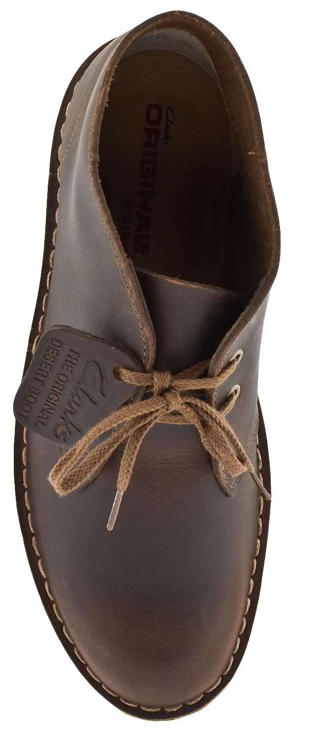 Clarks Originals Desert Women s Classic Suede Ankle Boots (Beeswax Leather) 5ce7c85da843