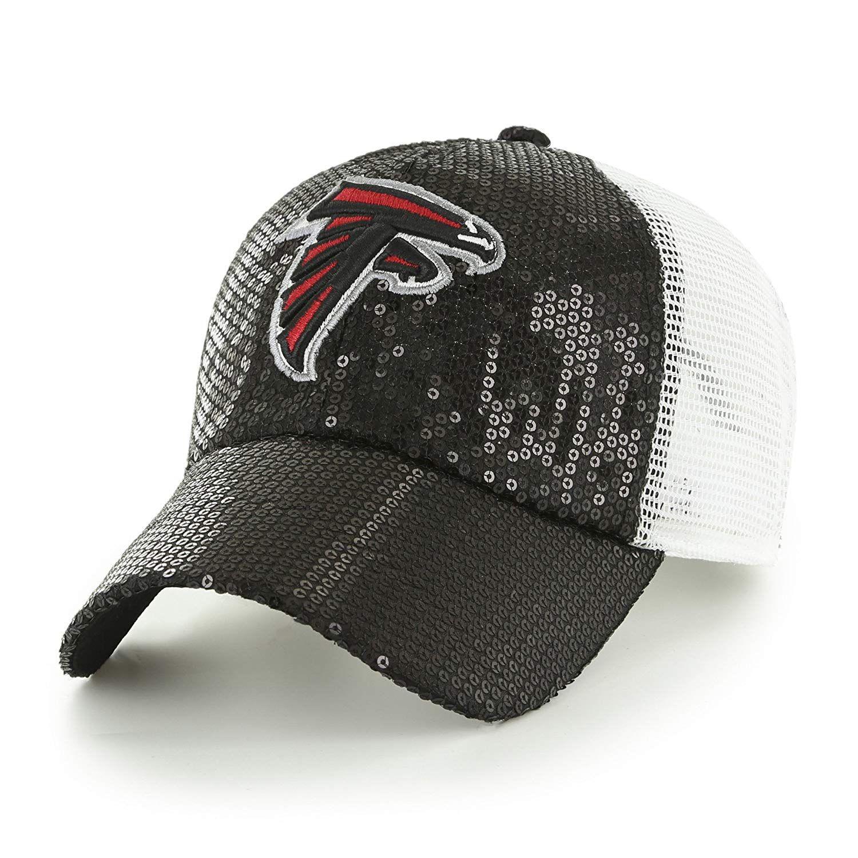 844eeb71624 OTS NFL Atlanta Falcons Women s Brilliance Challenger Clean Up Adjustable  Hat