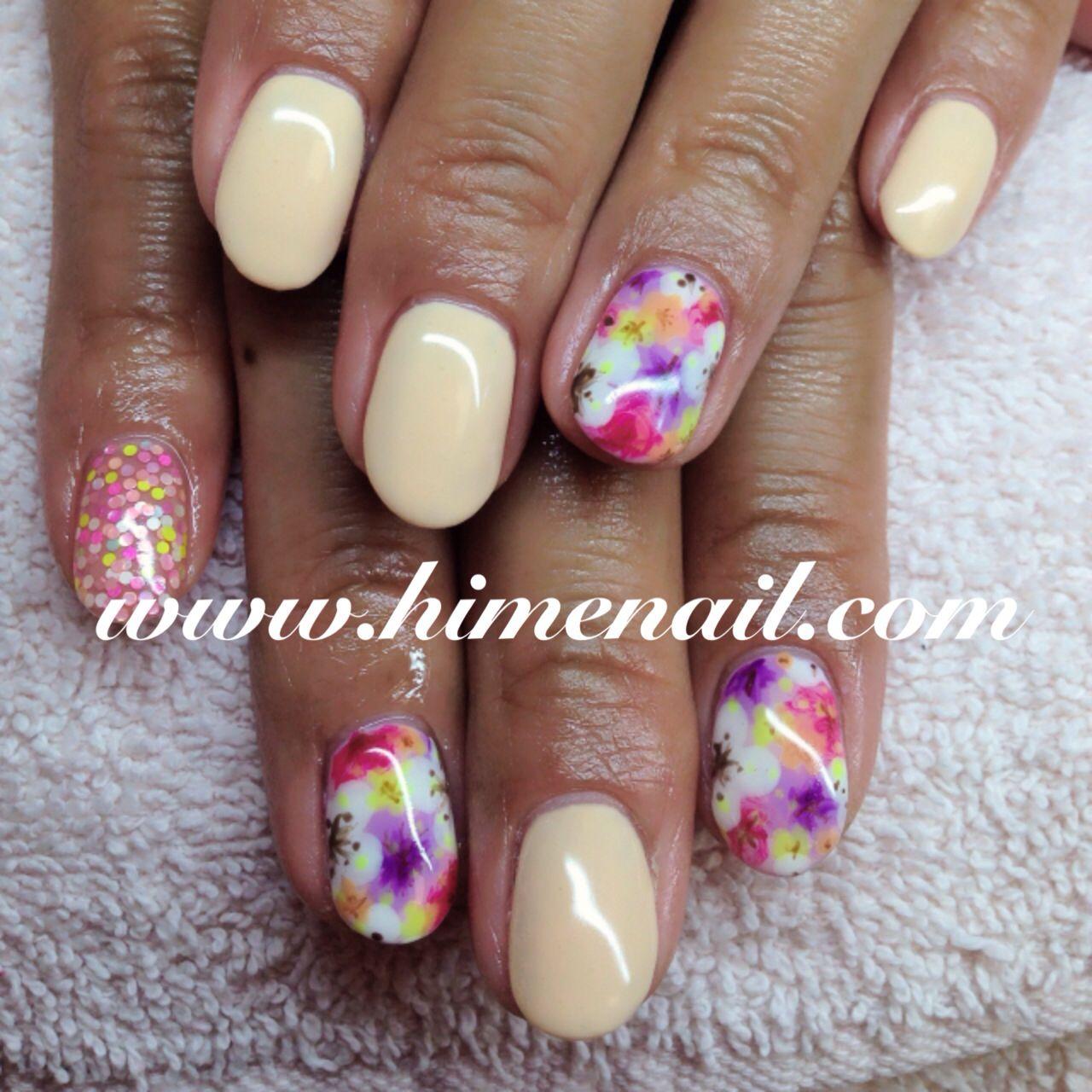 Spring gel nails   Spring Nails, Japanese Nail Art   Pinterest ...