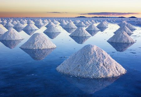 Mysterious Sights: Salar de Uyuni, Bolivia  It's fun to gaze at mysterious sites, wondering how they came about. The harder they are to explain, the more the theories pop up. Here are 16 wondrous destinations, some of which keep the mystery alive.  Salar de Uyuni is a magical place: When covered by water, the world's largest salt flat becomes a mirror, and anyone walking across it appears to be walking on clouds.