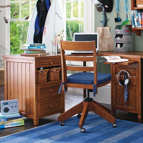 Beadboard Smart Drawer Amp Cubby Corner Desk Desk Corner