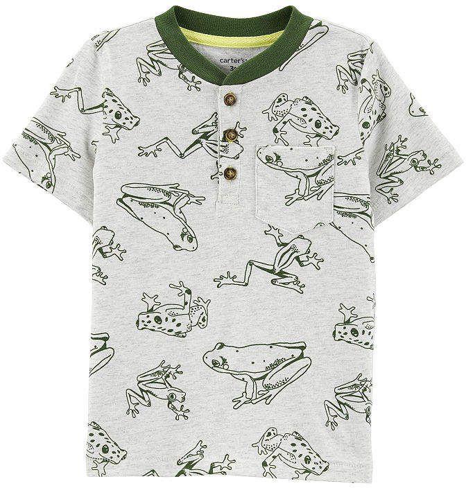 af303383 Carter's Boys Round Neck Short Sleeve T-Shirt-Toddler in 2019 ...