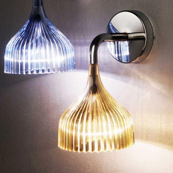 Wandlampegelbkartell licht pinterest walls and interiors e light wall sconce by kartell aloadofball Images