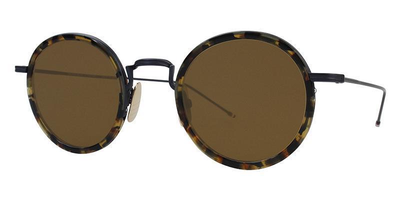 ed13f1102b2 Thom Browne - TB-906 Tortoise - Dark Brown-sunglasses-Designer Eyes ...