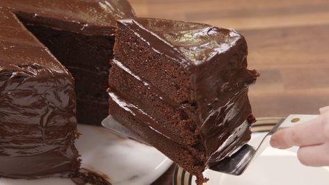 Tips De Belleza Relaciones Y Maternidad América Digital Receta Torta De Chocolate Pastel De Chocolate Receta Ganash De Chocolate