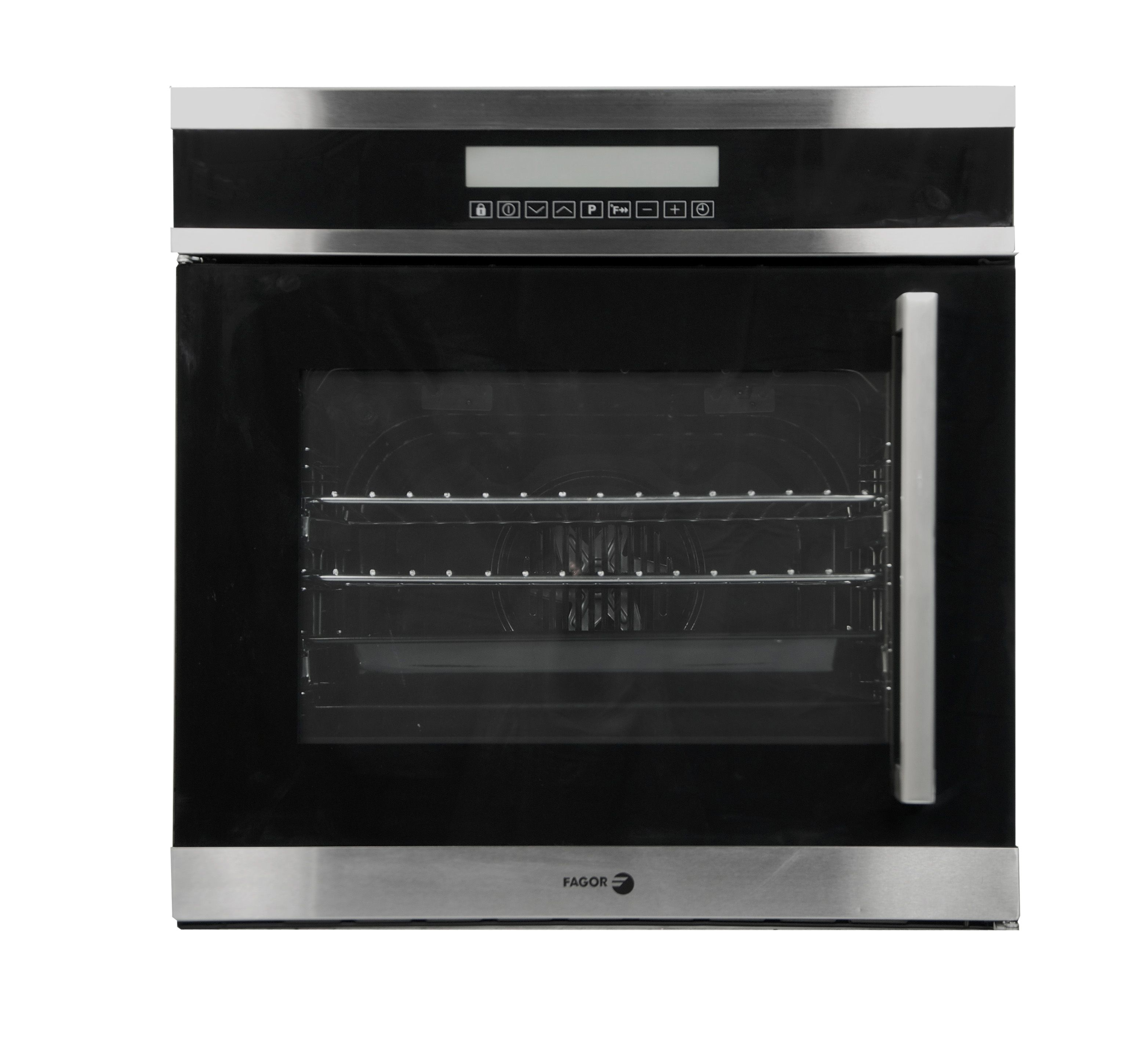 24 Left Side Opening Oven 10 Cooking Programs Easy To Clean Interior Enamel Stainless Steel Finish Wall Oven Single Electric Wall Oven Convection Wall Oven