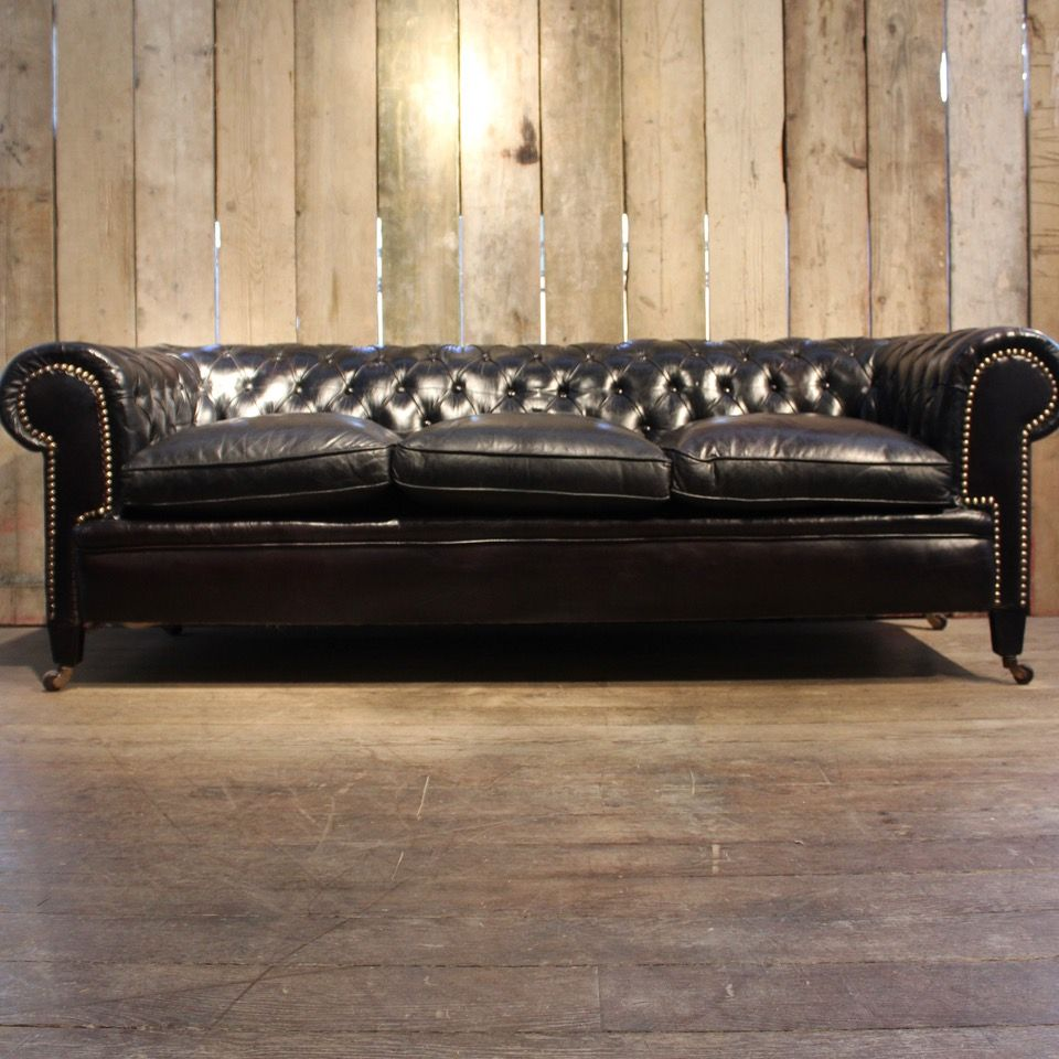 Impressive Black Leather Chesterfield Sofa Black Leather Chesterfield Sofa Leather Sofas Uk Leather Armchair