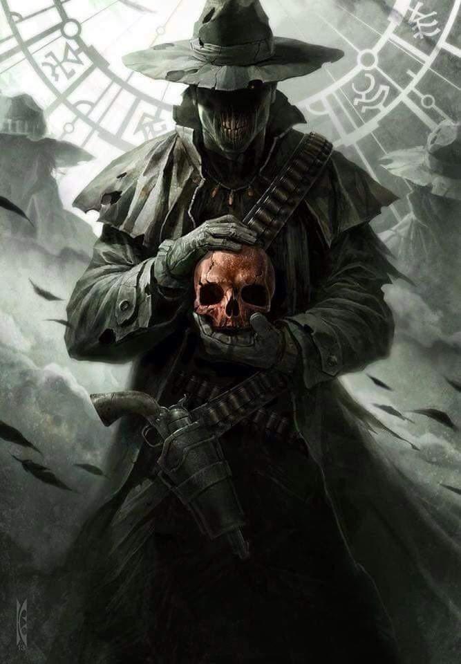Uncle Crazy On Dark Fantasy Art Character Art Dark Fantasy