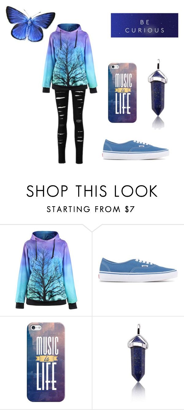 """""""Untitled #279"""" by xxghostlygracexx ❤ liked on Polyvore featuring Vans and Casetify"""