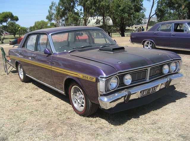 1971 Ford Falcon Xy Gtho Wild Violet By Sicnag Via Flickr