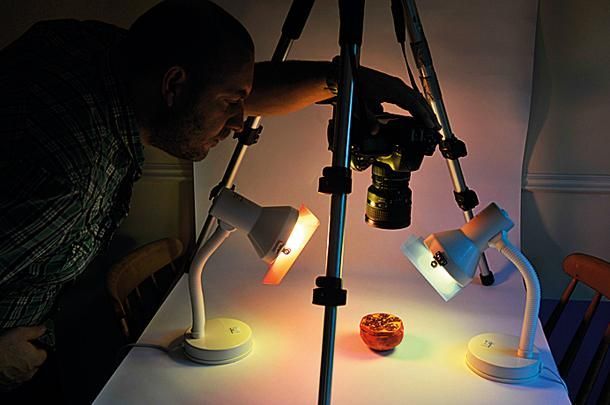 home diy photography hacks make a macro studio with paper and