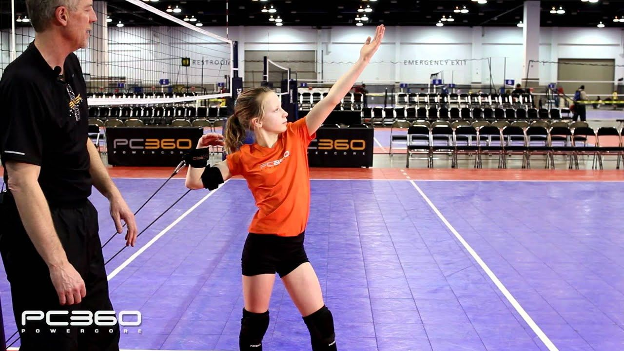 How To Hit A Volleyball Arm Swing Drills Volleybal En Training