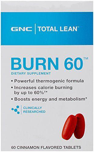 Pin On Gnc Total Lean Burn 60